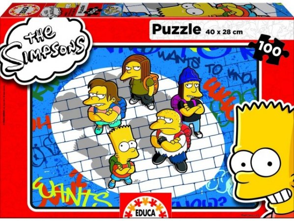 Educa Puzzle - The Simpsons - 100 dílků