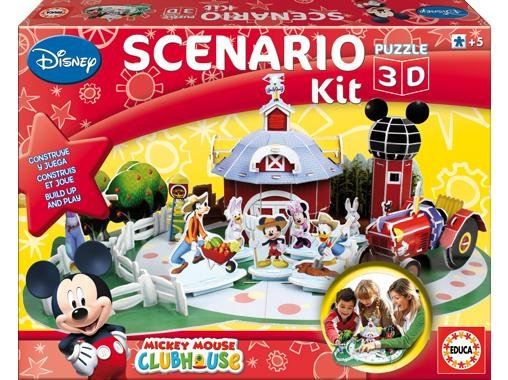 Educa Educa 3D Puzzle - Mickey farma