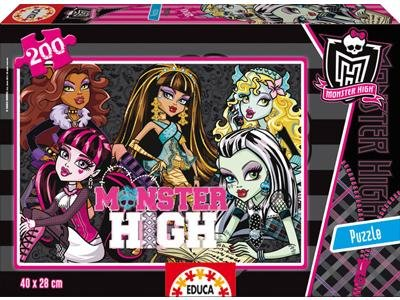 Educa Puzzle - Monster High - 200 dílků
