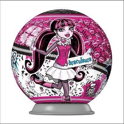 Ravensburger Puzzleball - Monster High - 54 dílků