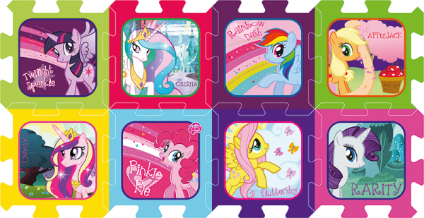 Trefl Pěnové puzzle My Little Pony