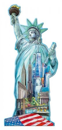 Ravensburger 3D Puzzle - Socha Svobody - New York