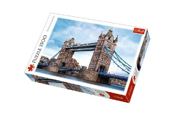 Trefl Puzzle - Tower Bridge - 1500 dílků